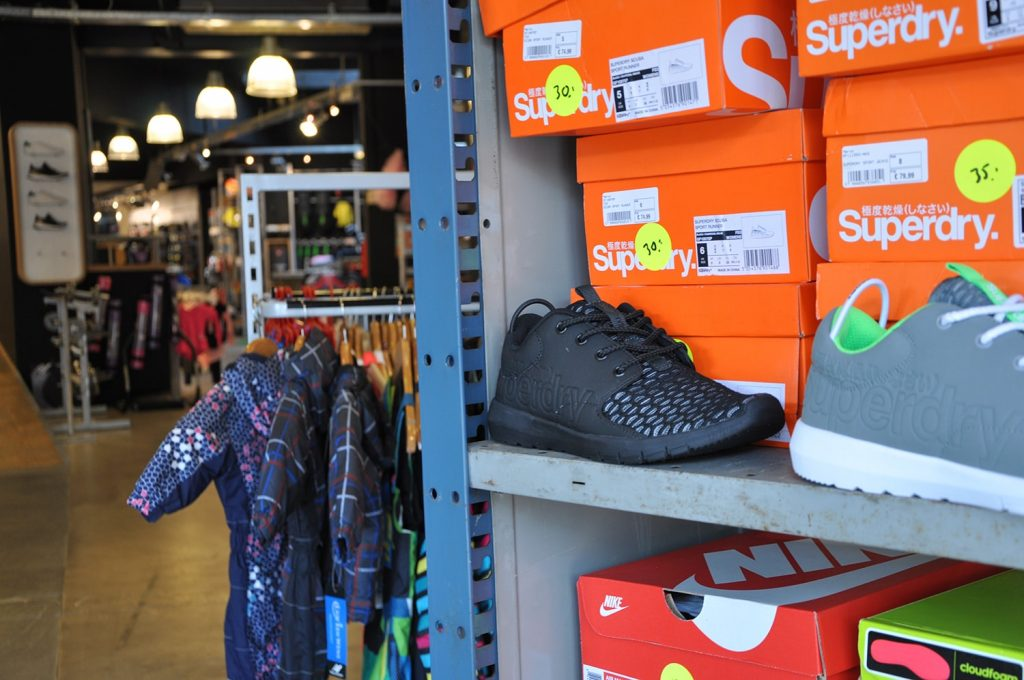 outlet superdry sneaker